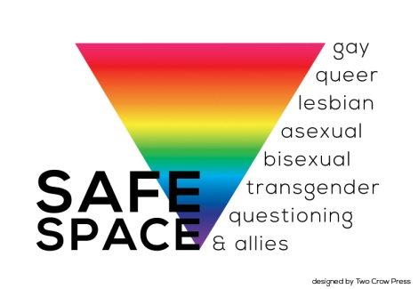 safe space white