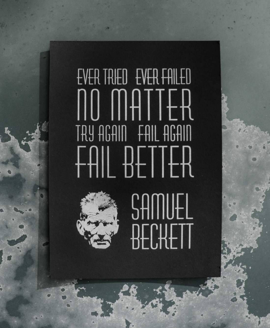 Beckett Print Completed